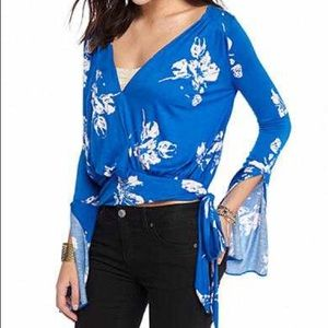 Free People Fiona Wrap Top